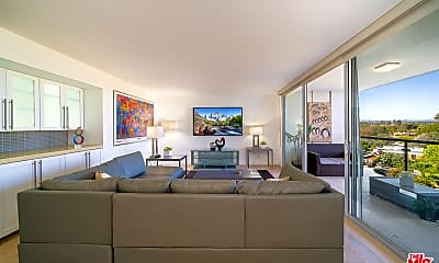 Living Room, 201 Ocean Ave 910P, 1