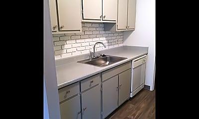 Kitchen, Park Place Apartments, 2