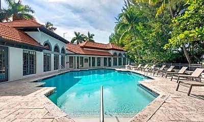 Pool, Promenade at Aventura Apartments, 1