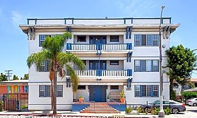 Building, 530 Alamitos Ave, 1