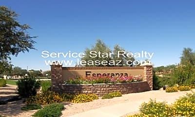 Community Signage, 6330 S Blake St, 2