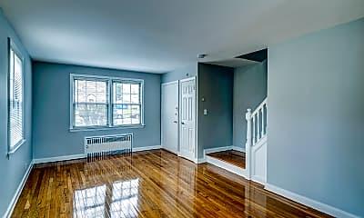 Living Room, Alden Apartments, 1
