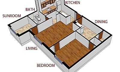Bedroom, 900 Sherman St, 2