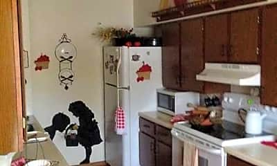 Kitchen, Meadowbrook Apartments, 1