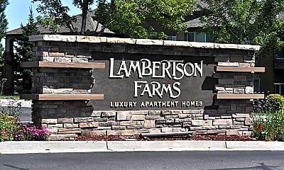 Community Signage, Lambertson Farms, 1