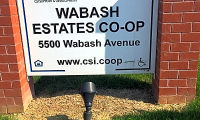 Wabash Estates Co-op, 1