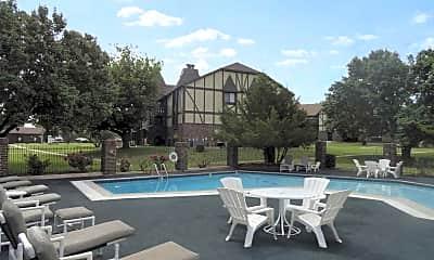 Pool, Pheasant Run, 1