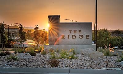 Community Signage, The Ridge, 2