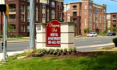 Community Signage, 531 South Frederick Avenue 9 East Deer Park Drive, 1