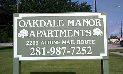 Oakdale Manor, 1