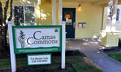 Camas Commons, 1