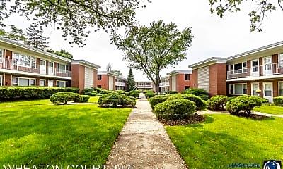 Building, Wheaton Court Apartments, 0