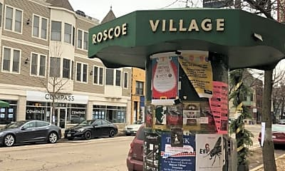 Community Signage, 2054 W Roscoe St, 2