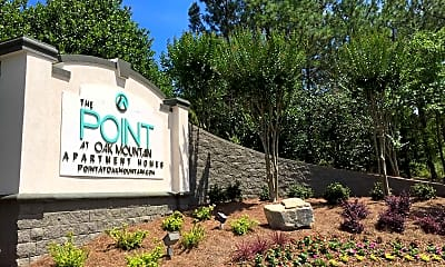 Community Signage, The Point at Oak Mountain, 2
