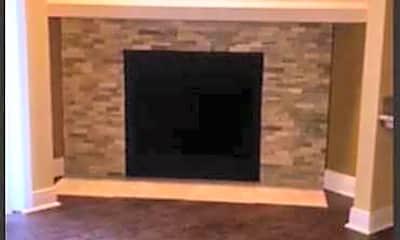 Fireplace, Tanglewood, 2