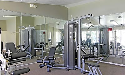 Fitness Weight Room, Preserve at Cedar River, 1