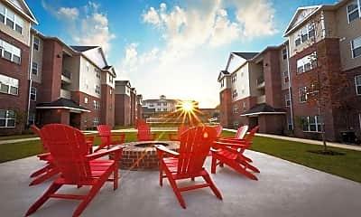 Recreation Area, Grove Student Apartments, 0
