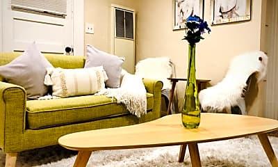 Living Room, 2523 P St, 0