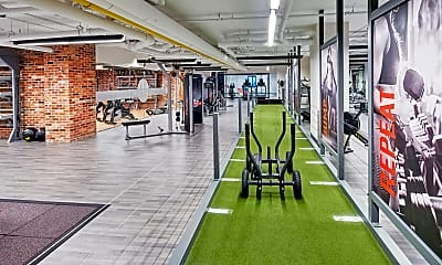 Fitness Weight Room, Courtland Towers, 1