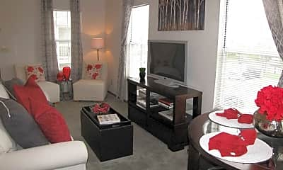 Living Room, The Vista At Rocky Fork, 2