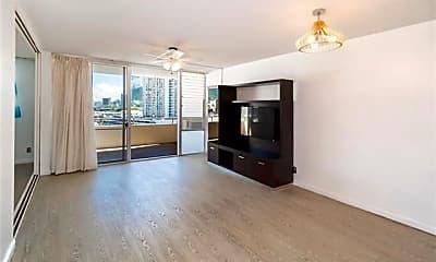 Living Room, 750 Kaheka St 602, 1