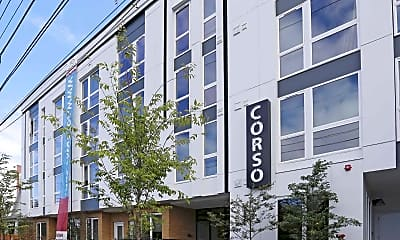 Building, Corso Apartments, 0