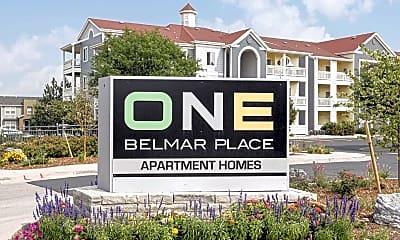 Community Signage, One Belmar Place, 2