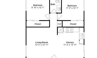 Bedroom, 1013 76th St Ct E, 2