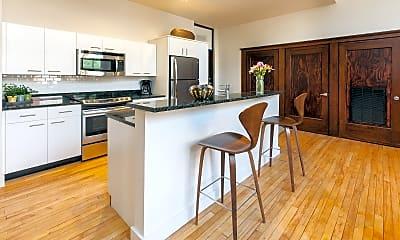 Kitchen, Longfellow Lofts, 1