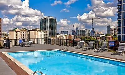 Pool, Americana Apartments, 0