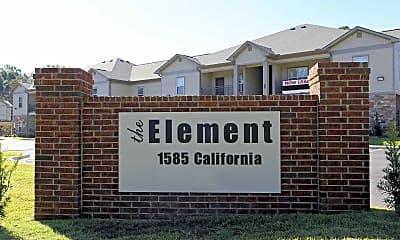 Community Signage, The Element Apartments, 2