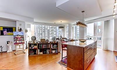 Living Room, 1025 First St SE 513, 1