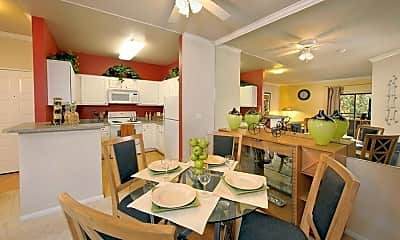 Dining Room, eaves Rancho Penasquitos, 1
