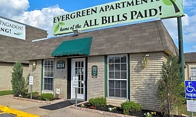 Building, Evergreen Apartments, 0