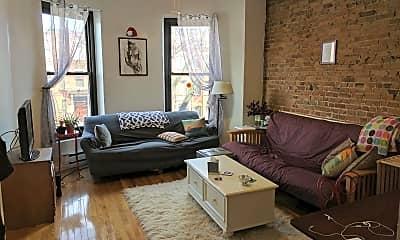 Living Room, 413 Massachusetts Ave, 1
