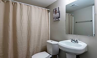 Bathroom, Room for Rent -  10 minutes to bus 15, 2