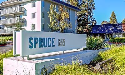 Community Signage, Spruce, 1