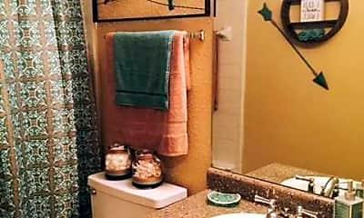 Bathroom, Aspen Apartments, 2