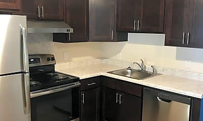 Kitchen, Clinton Avenue Apartments, 2