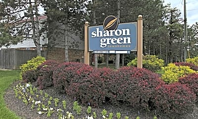 Community Signage, Sharon Green, 2