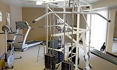 Fitness Weight Room, Salem Woods, 1