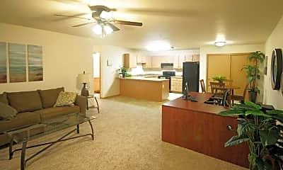 Living Room, River Trail Estates, 1