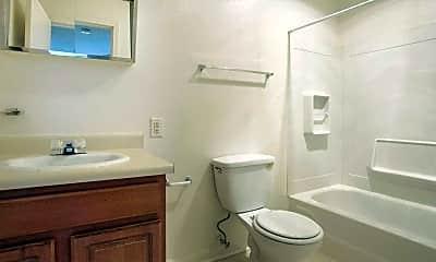 Bathroom, Holly Park Apartments, 2