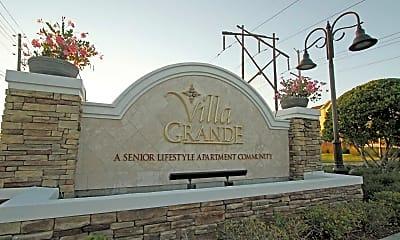 Community Signage, Villa Grande on Saxon, 1