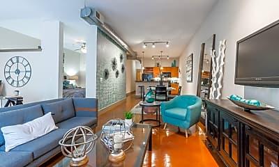 Living Room, 3105 San Jacinto, 2