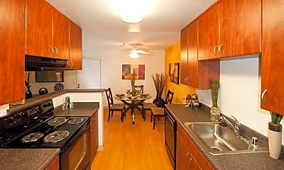 Kitchen, Avalon Mountain View, 1
