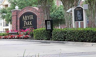 Community Signage, Meyer Park Lakeside, 2