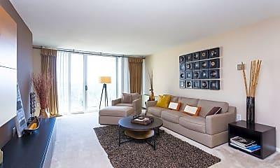 Living Room, Enclave Silver Spring, 0