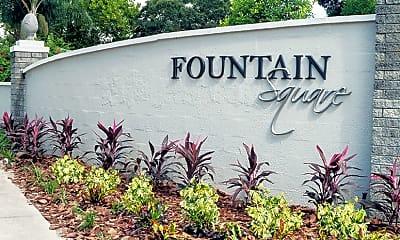 Community Signage, Fountain Square Apartments, 2