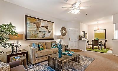 Living Room, Spring Brook Apartment Homes, 1